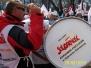 Manifestacja w sprawie wieku emerytalnego Warszawa 2012 rok