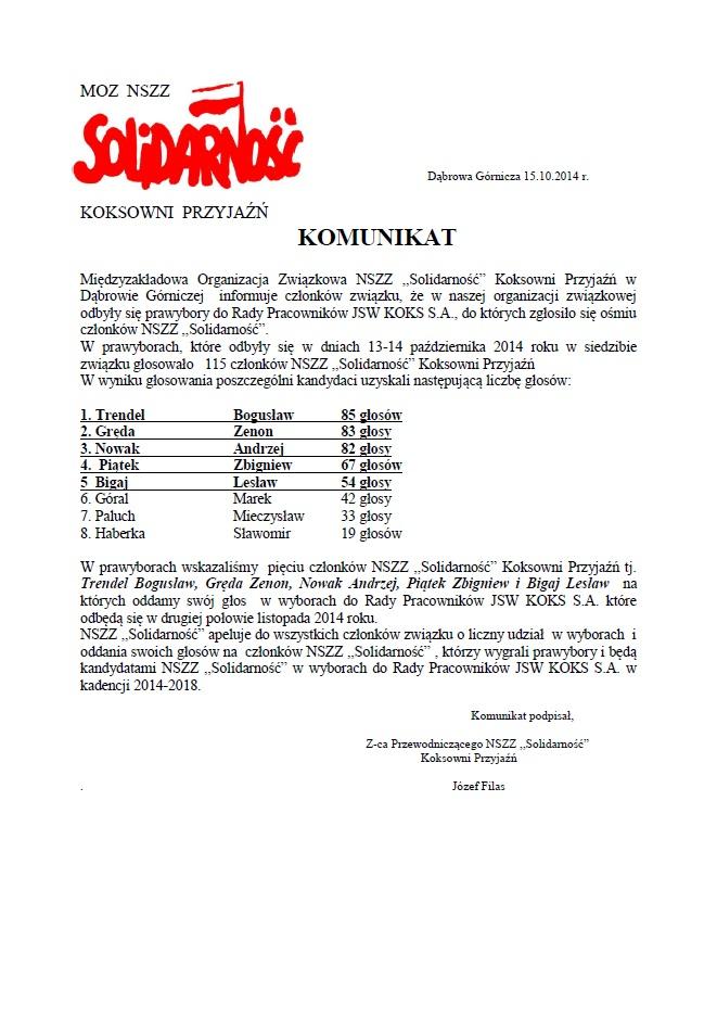 prawybory 2014